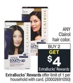 FREE Clairol Hair Color CVS Deals 6/20-6/26