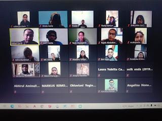 Adakan Makrab Sekaligus Sharing Hearing, HMJ Komunikasi Unitri: Jangan Ada Dusta Antara Kita