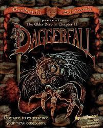 Elder Scrolls Daggerfall box art