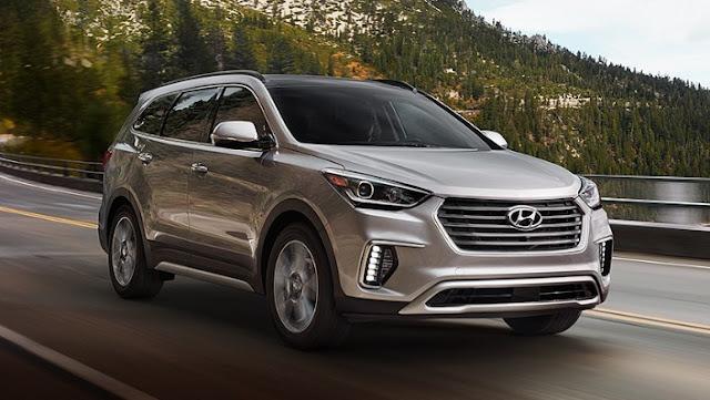 2017 Hyundai Santa Fe Specs