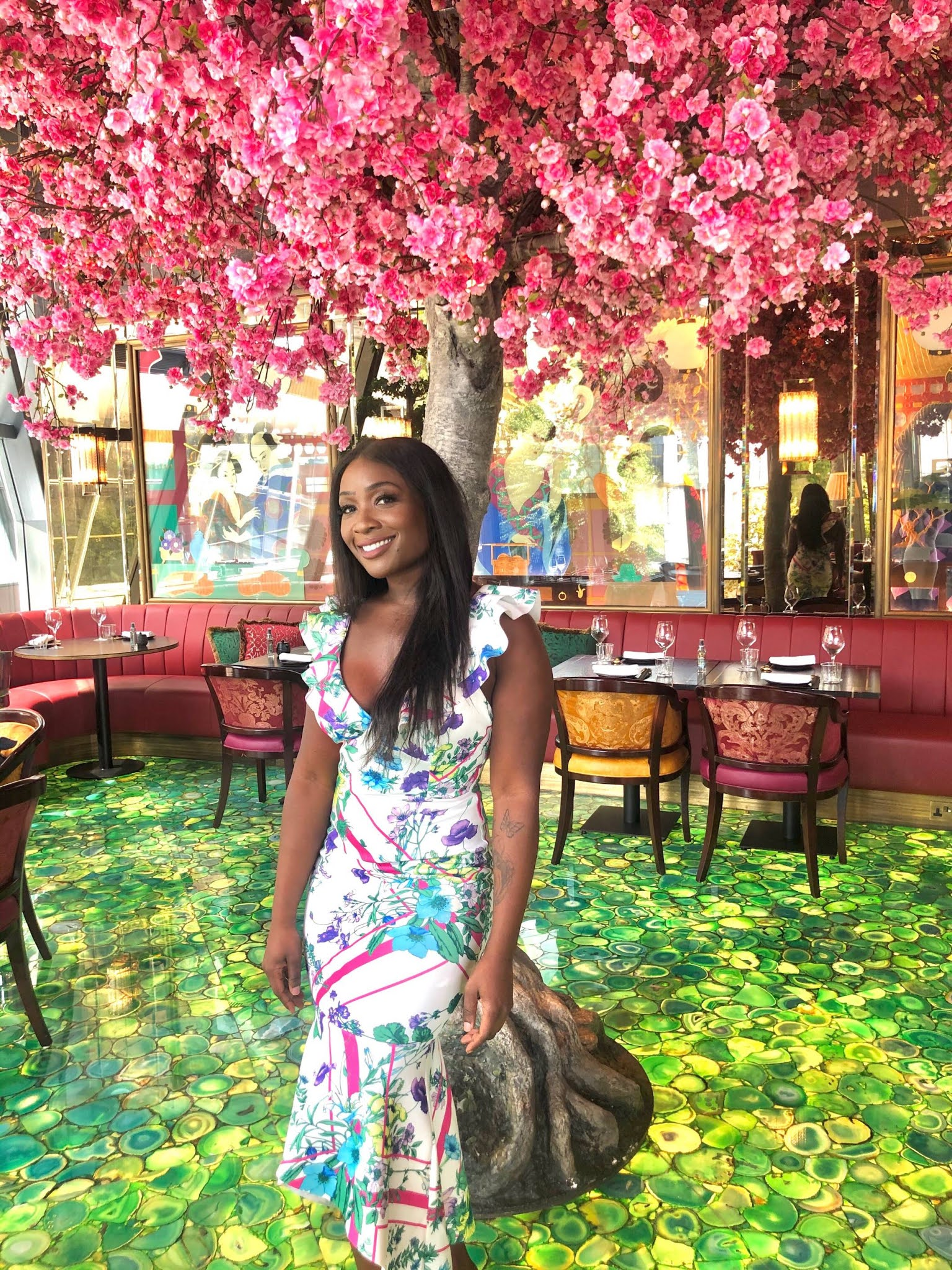 Cherry Blossom Tree at The Ivy Asia St Paul's London