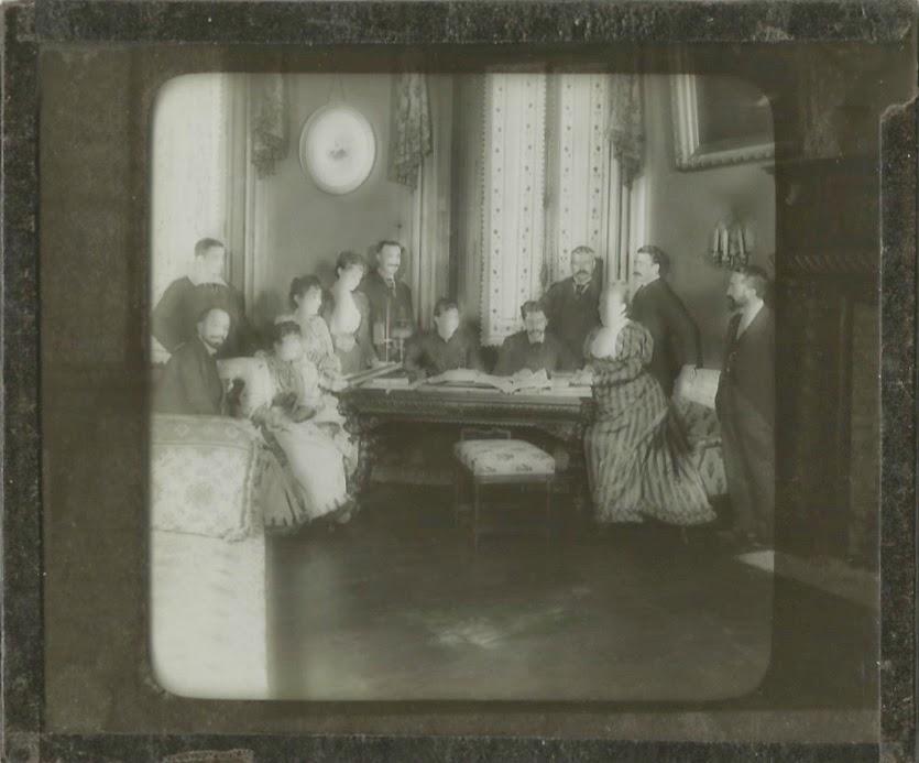 Altes Foto von ca. 1890