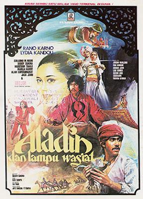 Aladin dan Lampu Wasiat Poster