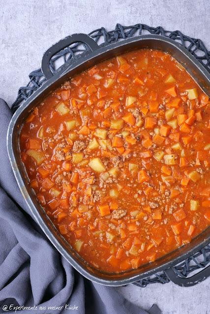 Selbstgemachte Gemüsebrühe   Süßkartoffel-Bauerntopf   Kochen   Rezept   Essen   Weight Watchers