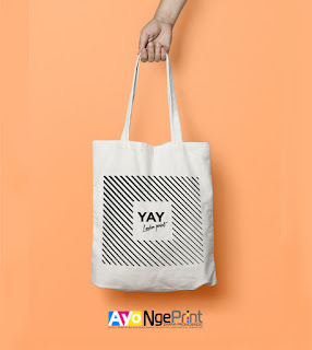 tempat cetak sablon tas tote bag goodie bag di Gambir, Jakarta Pusat