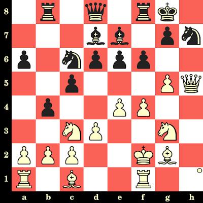 Les Blancs jouent et matent en 4 coups - Rupert Jones vs Maurice Lettsome, Dresde, 2008