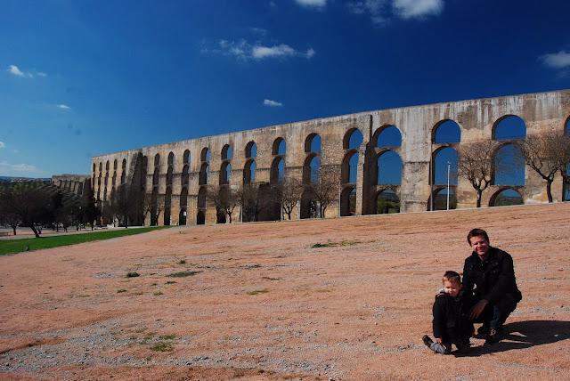 aqueduc d'Amoreira Elvas