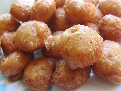 Buñuelos de pizza Thermomix
