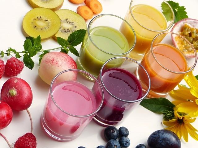 Batidos de zumos para adelgazar