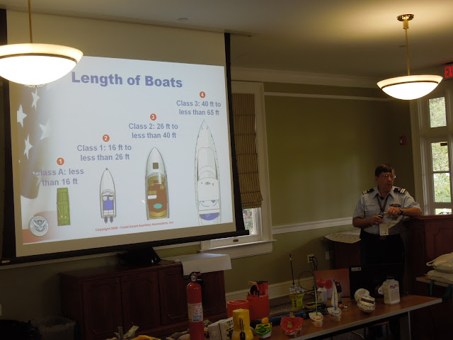 Chris Malzone discusses all the different vessels out on the water.