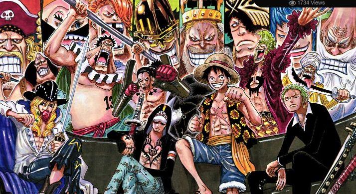 Daftar Tokoh Dan Karakter Mangaanime One Piece Lengkap Infoakuratcom