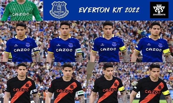 PES 2021 Everton kits 2022