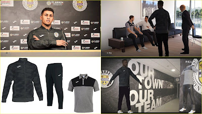 PES 2020 St Mirren Polo Shirts & Track Suits by PESWilliam