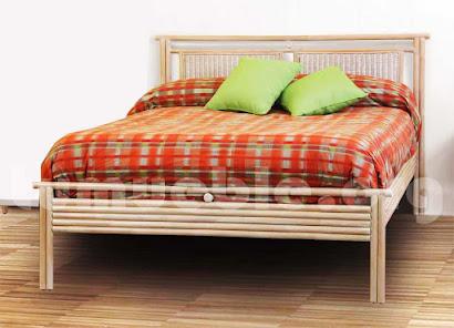 cama rattan natural j830