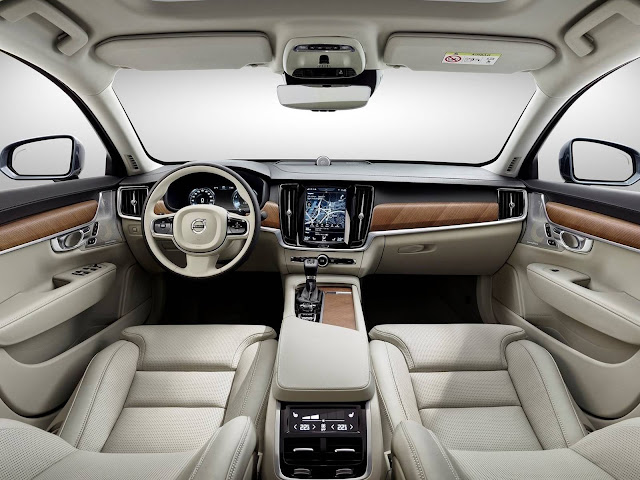 Volvo V90 State - interior