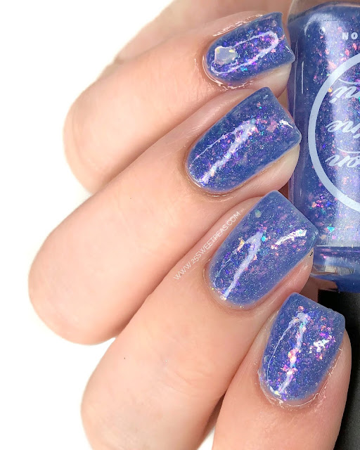 Moon Shine Mani Be Excellent to Each Other! 25 Sweetpeas