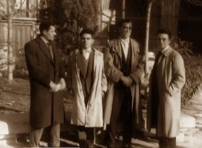Desplazamiento a Terrassa del Casal Catòlic de Sant Andreu en 1957