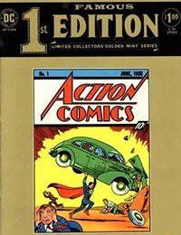 Read Famous First Edition comic online