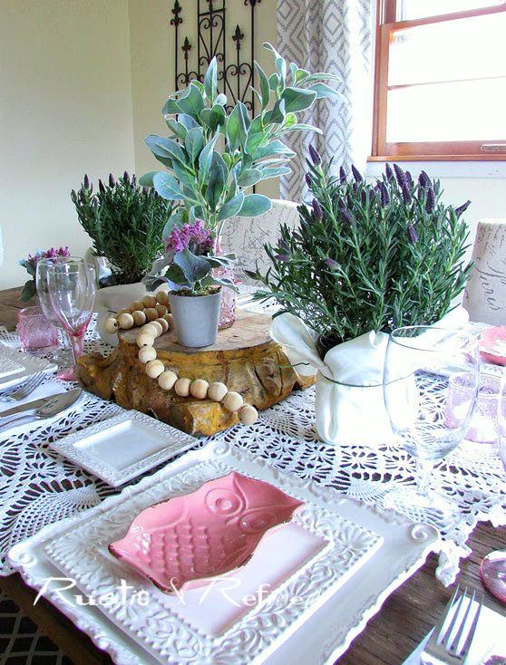 winter table top decor to chase away the winter blues