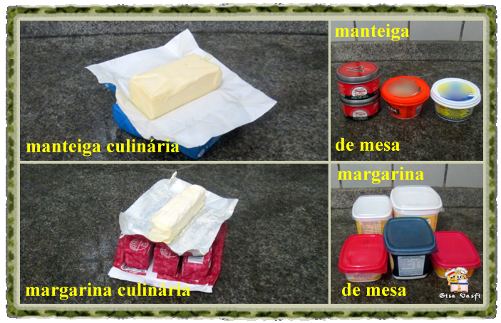 Manteigas e margarinas
