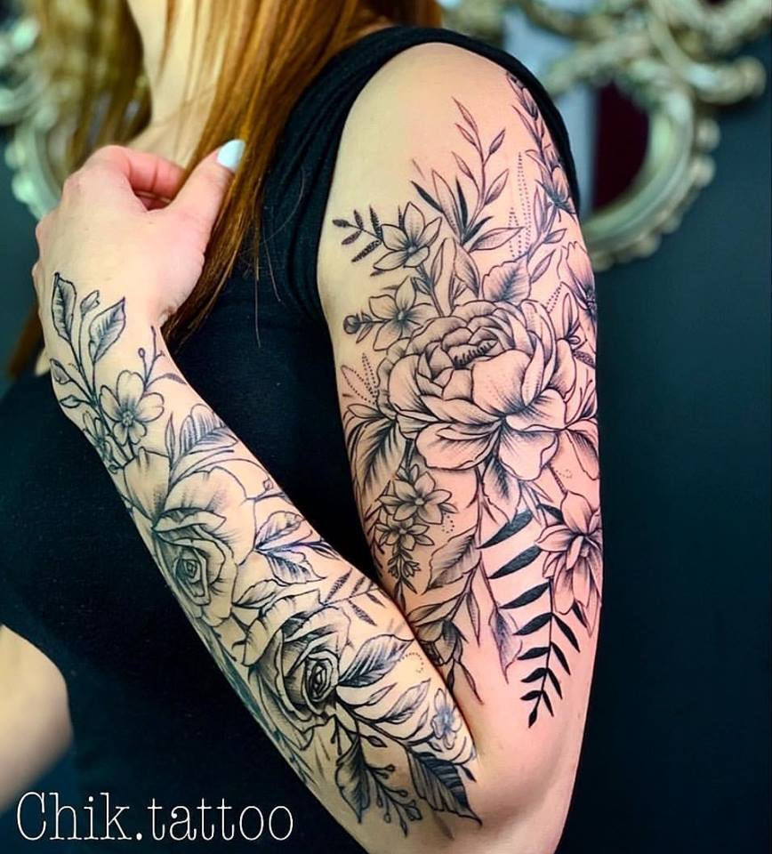 So Cool Sleeve Tattoos