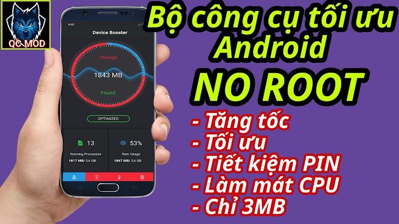 Hướng dẫn tăng tốc điện thoại Android 2020