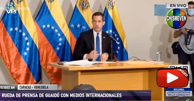 Juan Guaidó asegura que no escapará de Venezuela después del 5 de enero