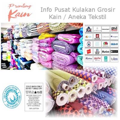 Alamat Distributor dan Pabrik Kain Textile Di Indonesia
