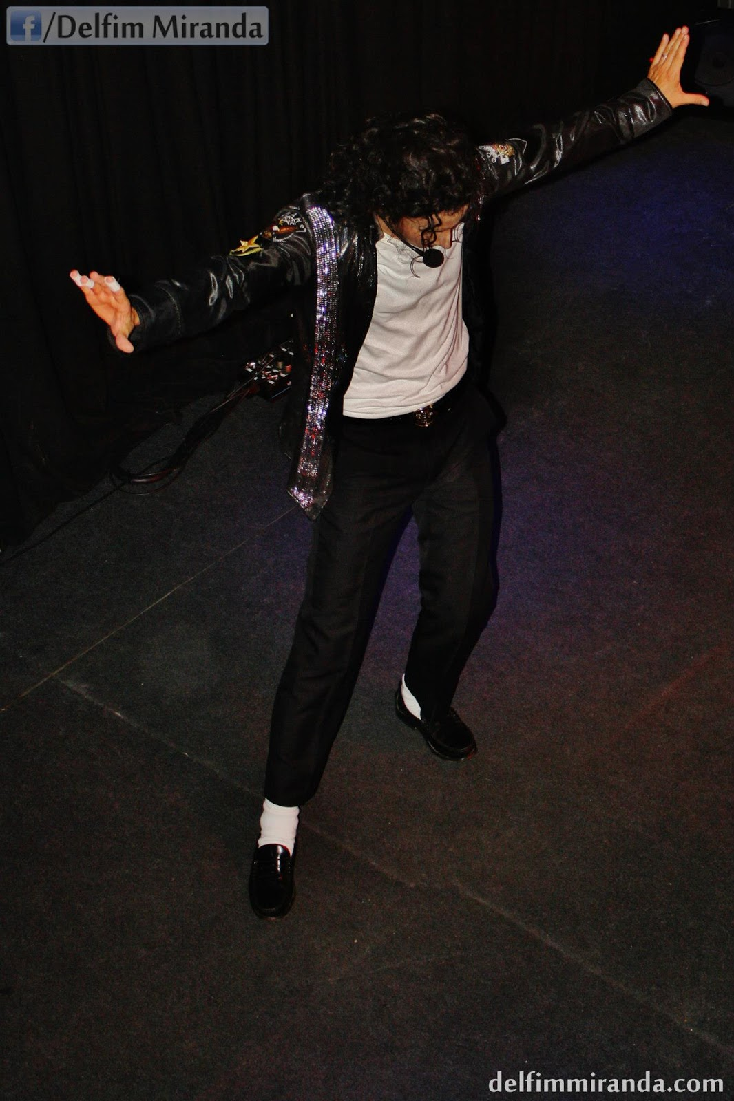 Delfim Miranda - Michael Jackson Tribute - Behind the Mask - Top View