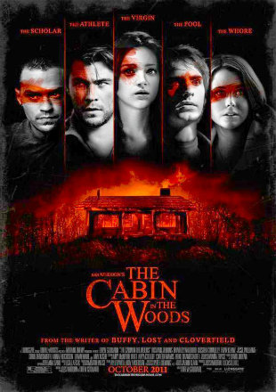 The Cabin In The Woods 2012 BRRip 720p Dual Audio