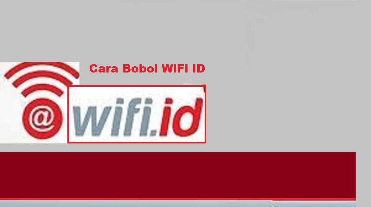 Cara Bobol Wifi ID
