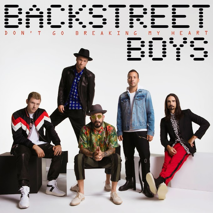 Backstreet Boys - Don't Go Breaking My Heart (Lyrics)