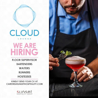 Sunset Hospitality Group Dubai Requirements Floor Managers, Waiters/Waitresses, Bartenders, Hostesse  | Apply Online