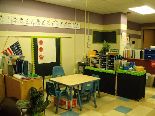 My New Preschool Resource Room Classroom Setup!