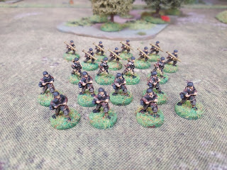 15mm German paratroops with Anti-tank weapons