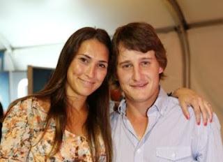 Emiliano Grillo And His Ex Wife Macarena Alcala