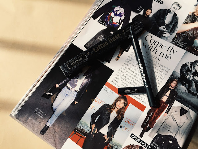 This image shows the full review of the Kat Von D Tattoo Liner in Trooper