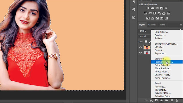 Change Background color in Photoshop Screenshot 3