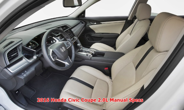 2016 Honda Civic Coupe 2.0L Manual Specs