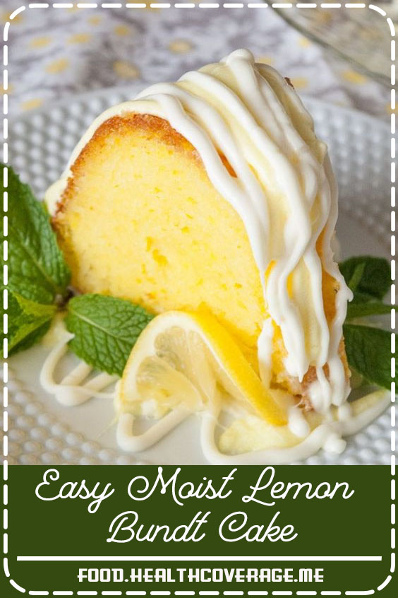 This easy lemon bundt cake drizzled with lemon cream cheese frosting is a fantastic nearly from scratch dessert! It's super moist and super tasty!