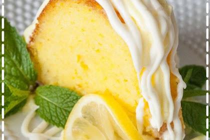 Easy Moist Lemon Bundt Cake