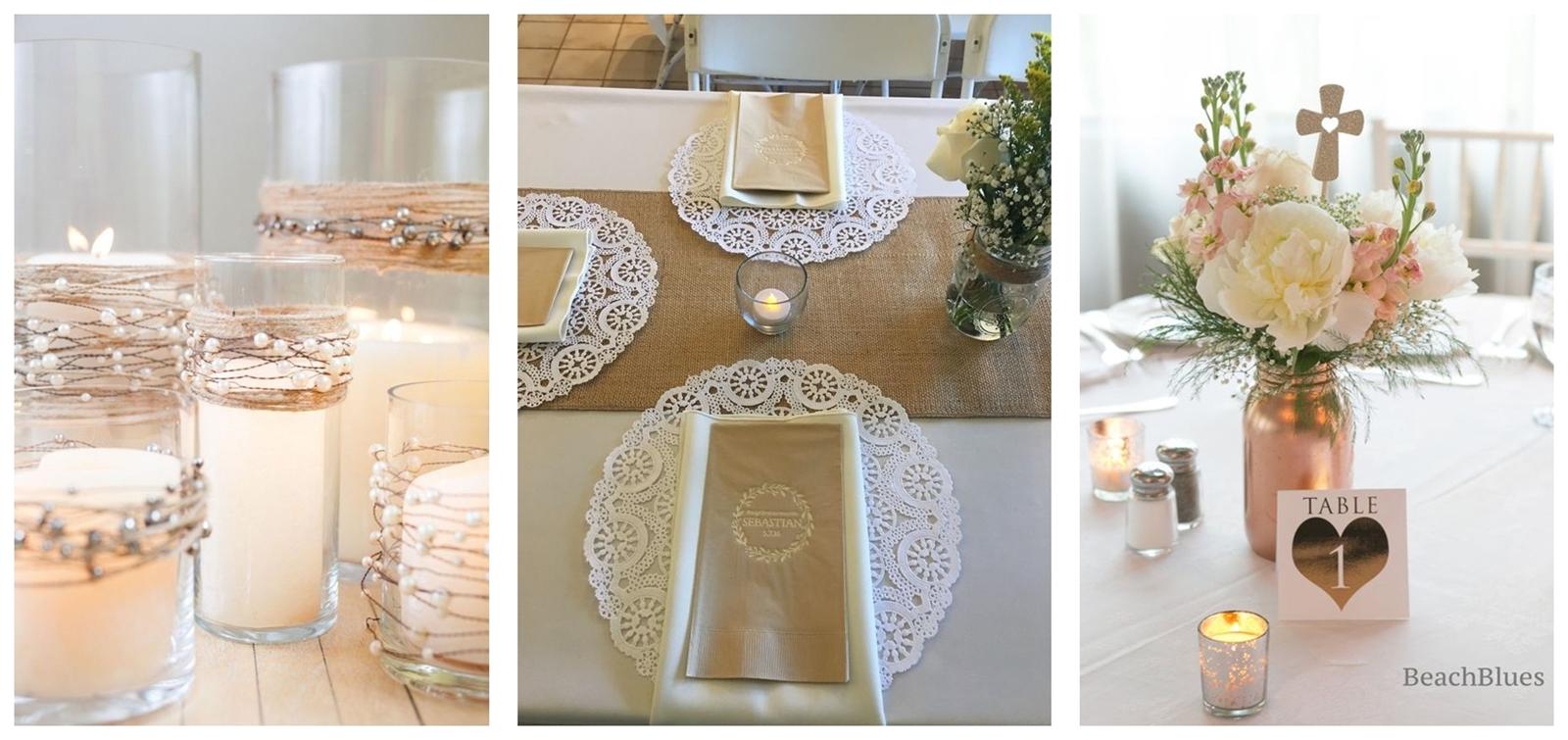 2 jak udekorować stół z okazji Pierwszej komunii świętej inspiracje pomysły tanie dekoracje dla dzieci