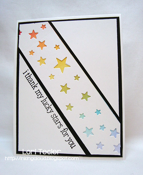 I Thank my Lucky Stars for You-designed by Lori Tecler-Inking Aloud-stamps from Lawn Fawn