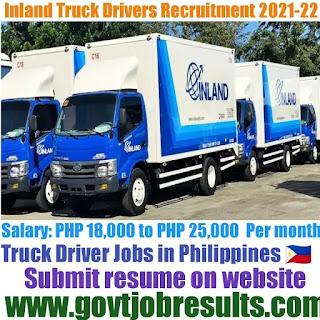 Inland Truck Driver Recruitment 2021-22