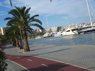 Promenade in Palma de Mallorca