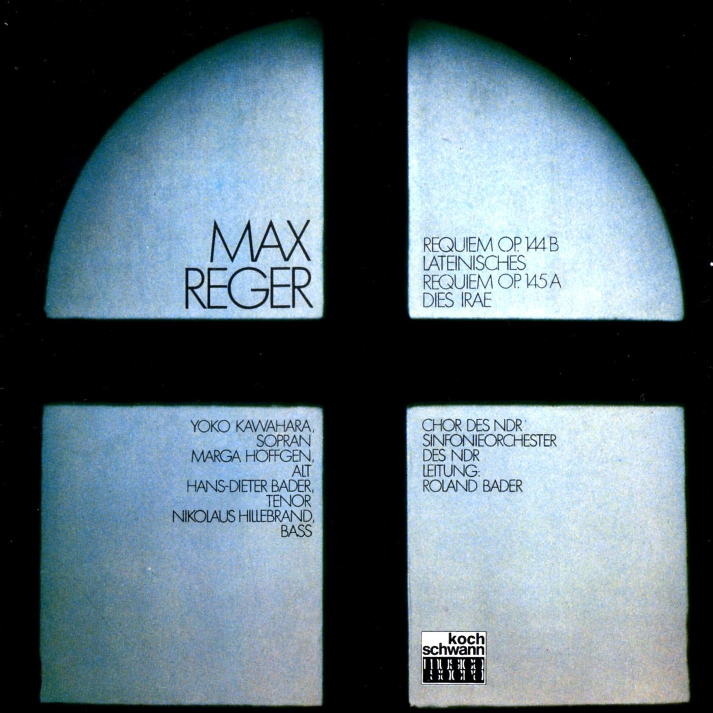 Max Reger   Requiems (Roland Bader)