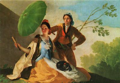 Postal de Museo del Prado, El Quitasol. Editorial Savir.
