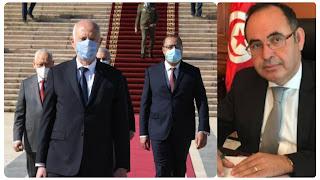 مبروك كورشيد الولايات المتحدة الأمريكية تتدخل لـ الصلح بين الرؤساء الثلاث في تونس..