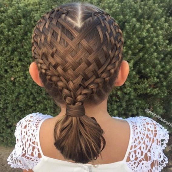 Model rambut kepang cantik