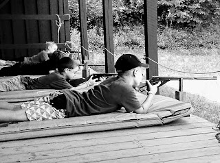 kids shooting jax shot spotter